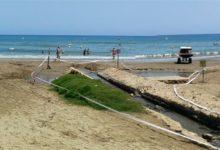 Tanca la platja de les Fonts d'Alcossebre després de detectar-se contaminació d'origen fecal
