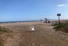 Tancada al bany la platja de la Pobla de Farnals per superar els índexs de bacteris permesos