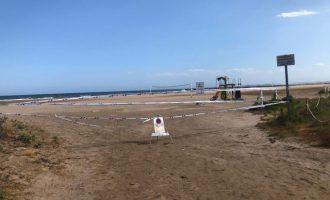 Reobri la platja de la Pobla de Farnals després dels últims resultats