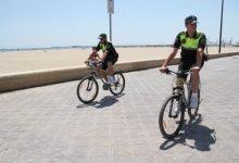 Detingut per robar presumptament una bicicleta en el passeig marítim de València