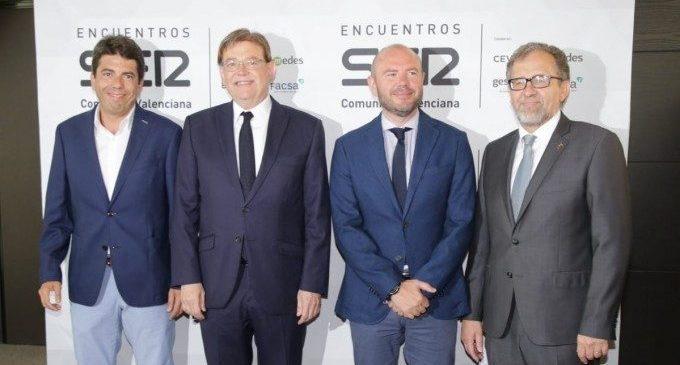 """Els nous presidents de les diputacions d'Alacant i Castelló prometen ser """"socis fiables"""" de la Generalitat"""