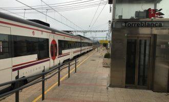 Restablida la circulació ferroviària entre València i Alboraia