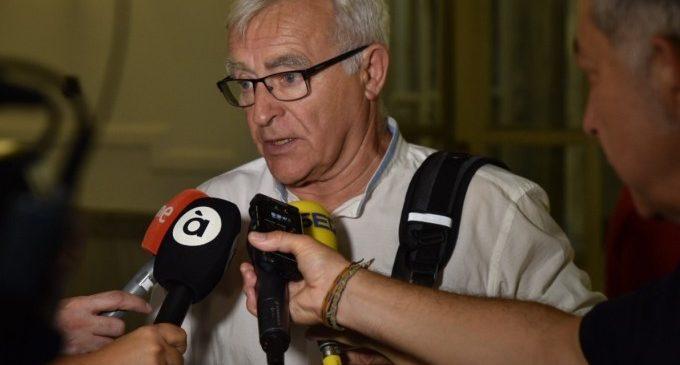 """Ribó reitera que la solució als accessos al Port passa """"necessàriament"""" pel ferroviari"""