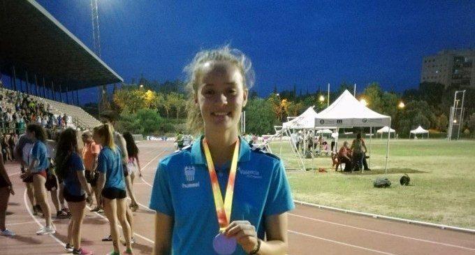 L'almussafenya Sandra Ferriz aconsegueix el bronze en llançament de disc al Campionat d'Espanya d'Atletisme sub20