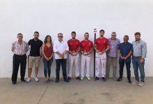 Puchol II, Raúl i Carlos, guanyadors de pilota en el Trofeu Ciutat de Torrent