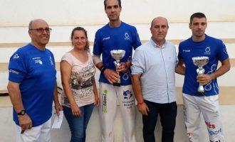 """De la Vega y Javi, campeones del XXX Trofeo de Pilota Valenciana """"Tío Pena"""" de Massamagrell"""