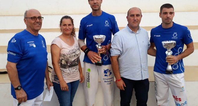 """De la Vega i Javi, campions del XXX Trofeu de Pilota Valenciana """"Tío Pena"""" de Massamagrell"""