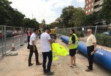 Millora del subministrament d'aigua al centre de València amb la nova canonada de Jacinto Benavente