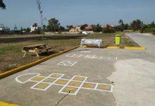 L'Ajuntament de València acaba d'instal·lar el jardí provisional en l'antiga ubicació de la fàbrica Moyresa