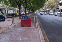 Concluyen los trabajos de reparación del carril bici de Manuel Candela
