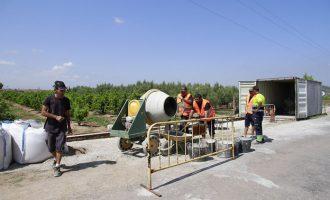 Puçol anuncia el període d'inscripcions per a la brigada municipal, obertes fins al 14 d'agost