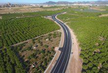 La Diputació renueva la carretera entre Sagunt y Canet d'En Berenguer
