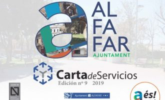 Alfafar recull en la seua Carta de Serveis 46 compromisos que han de complir-se al llarg de l'any