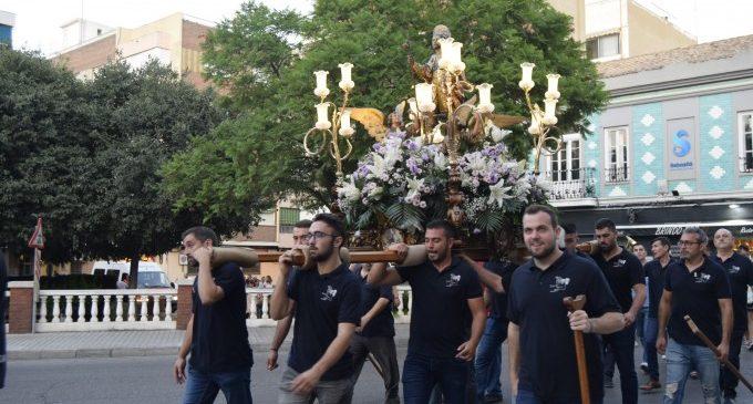 Les festes patronals de Burjassot donen pas a la peregrinació de Sant Roc