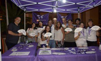 El Punto Violeta de las Fiestas de San Roque de Burjassot está siendo de gran ayuda