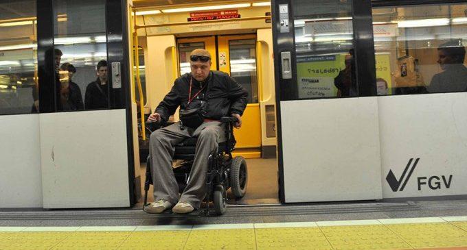 València, una ciudad cien por cien accesible para las personas con movilidad reducida