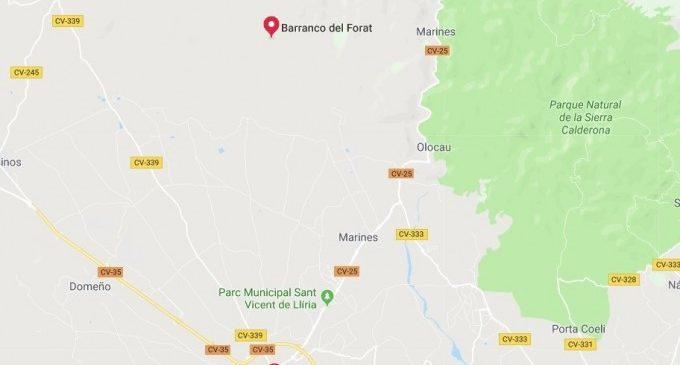 Investiguen la mort d'un home atropellat prop d'una plantació de cànem a Llíria