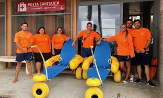 Alboraia i el seu equip de salvament i socorrisme vetlen per unes platges més segures