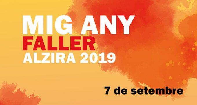 Alzira celebra el Mig Any Faller amb activitats per a totes les edats