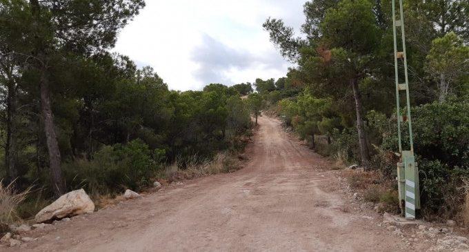Torrent acaba la millora dels accessos forestals a la Serra Perenxisa