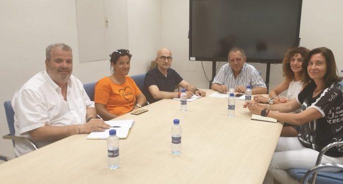 L'Alcalde d'Alaquàs es reuneix amb la Conselleria per a conéixer l'avanç de les obres del C.P. Ciutat de Cremona