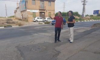 La Conselleria d'Obres Públiques ha licitat la rotonda de la CV-300 d'accés a Foios i Meliana per més d'un milió
