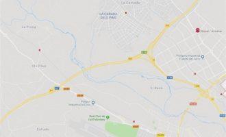 Un accidente entre varios vehículos causa 8 kilómetros de atasco en la A-7 a la altura de Paterna