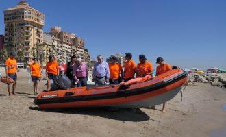 Alboraya refuerza con una lancha motora el salvamento en las playas