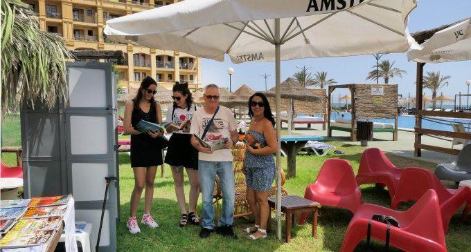 Alboraya pone en marcha dos puntos de 'Biblioteca a la Mar'