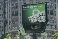 Jalance aconsegueix temperatures de 40 graus aquest dissabte, mentre Pego i Ontinyent superen els 38 graus
