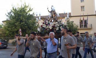 San Roque continúa su recorrido por los barrios de Burjassot