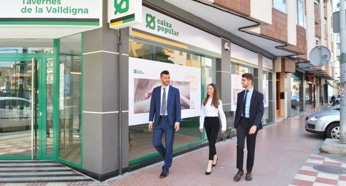 Caixa Popular aumenta su beneficio un 19% en el primer semestre del año