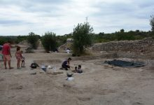 La troballa d'una sala noble en Riba-Roja saca al descobert una ciutat visigoda del segle VI