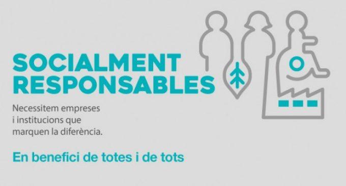 La creativitat de la campanya 'Socialment Responsables', candidata a millor anunci en premsa escrita dels X Premis Corresponsables