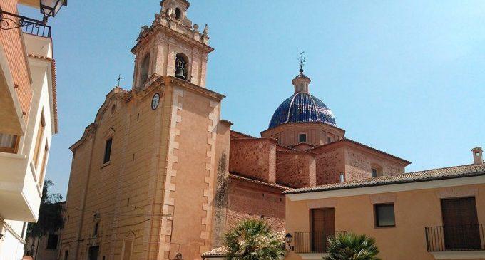 Arranca la restauración de la fachada y el campanario de la iglesia de los Santos Juanes de Faura de València