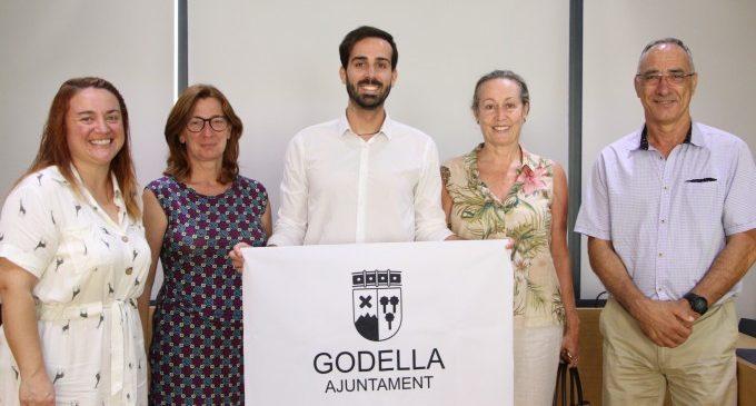 Godella rep a Miguel Ángel Sánchez abans de la seua expedició al Kilimanjaro