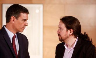 Sánchez i Iglesias arriben a un principi d'acord de govern de coalició