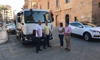 Llíria renova la flota del servei de recollida de Residus Sòlids Urbans
