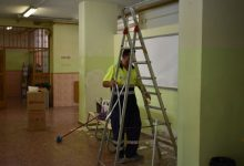Alfafar realiza diferentes mejoras de mantenimiento en sus colegios