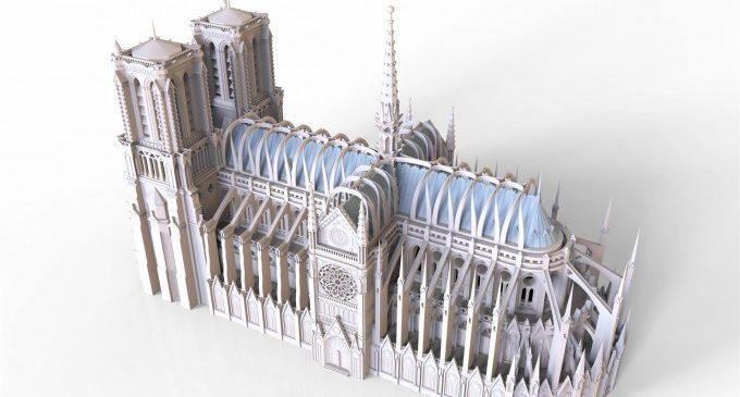 El projecte d'un enginyer de Nules, entre els 50 millors per a restaurar Notre Dame