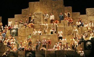 El Palaudiovisual de Gandia acull la projecció de l'òpera 'Nabucco'