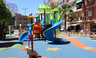 Quart de Poblet finalitza les obres de remodelació del parc infantil de Tribunal de les Aigües