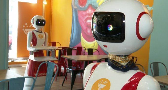 Un nou restaurant de València utilitzarà robots cambrers en l'atenció als clients