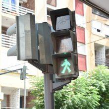 Movilidad Sostenible instala semáforos para regular el paso alternativo de vehículos en el Palmar