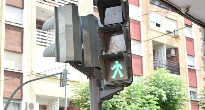 Alfafar instal·la semàfors sonors en diferents encreuaments per als vianants