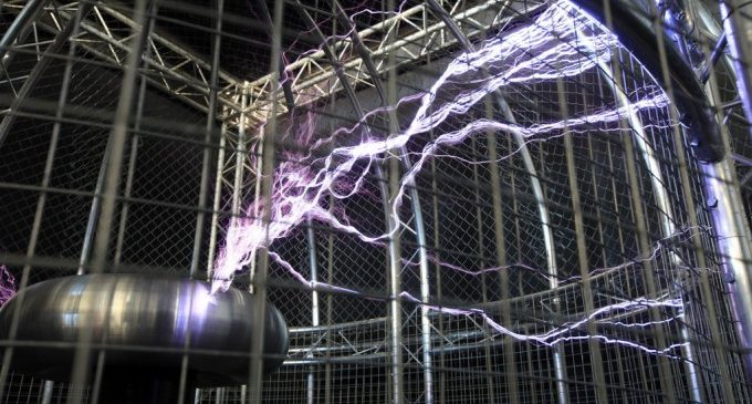 El Teatro de la Electricidad en el Museu de les Ciències de València