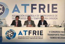 Arcadi España resalta el servicio que presta el transporte frigorífico al tejido productivo y a la sociedad valenciana