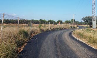 Manises inicia la reparació dels camins rurals de La Mallà