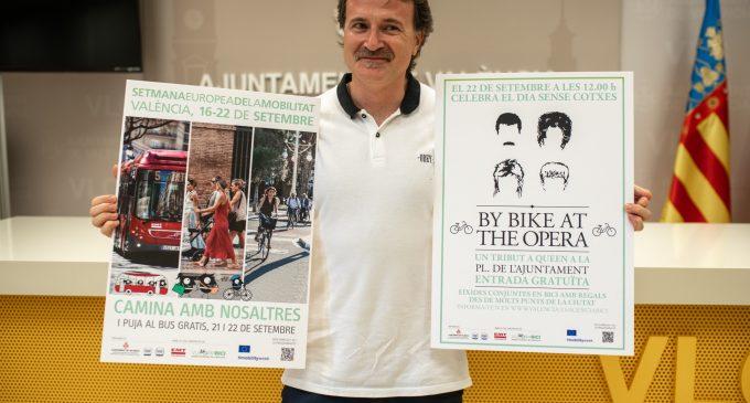 Torna la Setmana de la Mobilitat amb protagonisme de l'EMT i assajos per a la conversió en zona de vianants de l'Ajuntament