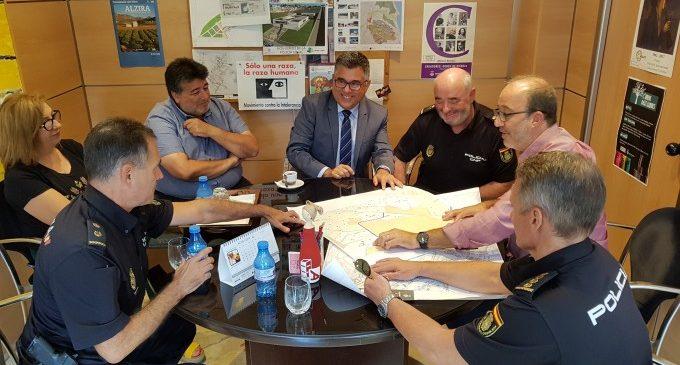 El Delegat del Govern es compromet a a cooperar en els projectes urbanístics d'Alzira